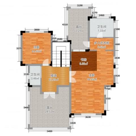 华侨花园2室0厅2卫0厨333.00㎡户型图