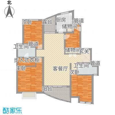 大唐花苑昆山户型