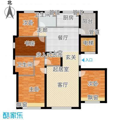 亦庄·金茂悦167.00㎡亦庄・金茂悦四期8号楼45居户型