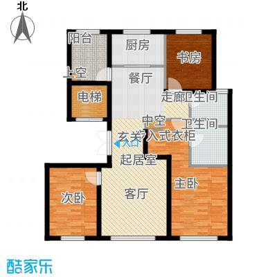 亦庄·金茂悦132.00㎡亦庄・金茂悦四期8号楼35居户型
