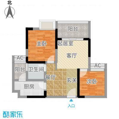 贵博江上明珠2号楼户型