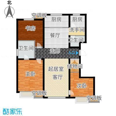 新梅江·万科柏翠园155.00㎡2、3、6、14号楼双层户型3室2厅