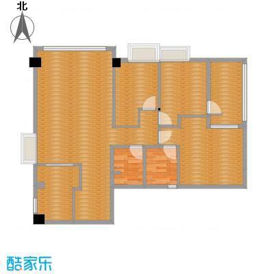 玫瑰园山水居客厅成品方案