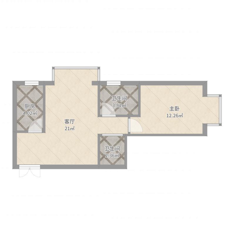 天洋城1号楼1单元301