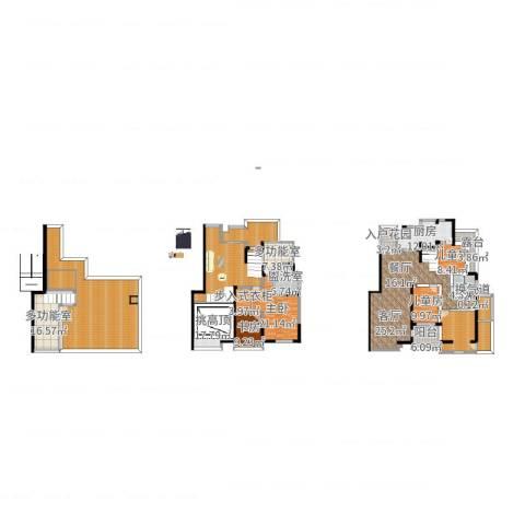 远大都市风景4室2厅9卫1厨396.00㎡户型图