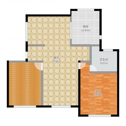 君悦・东湖公馆1室1厅1卫1厨149.00㎡户型图