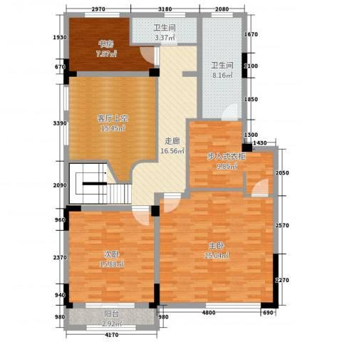 塞纳蓝湾3室0厅2卫0厨220.00㎡户型图