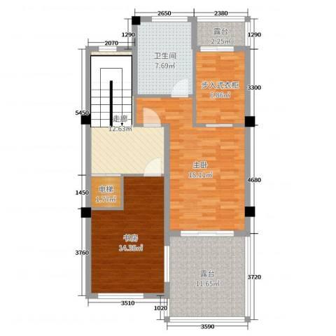 御江山2室0厅1卫0厨94.00㎡户型图