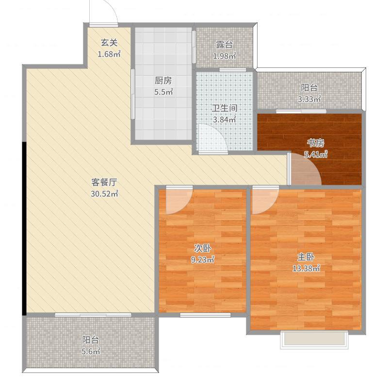 泽胜中心城装修设计方案