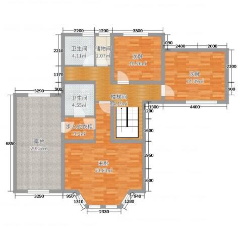 唐轩・温莎观邸3室0厅2卫0厨273.00㎡户型图