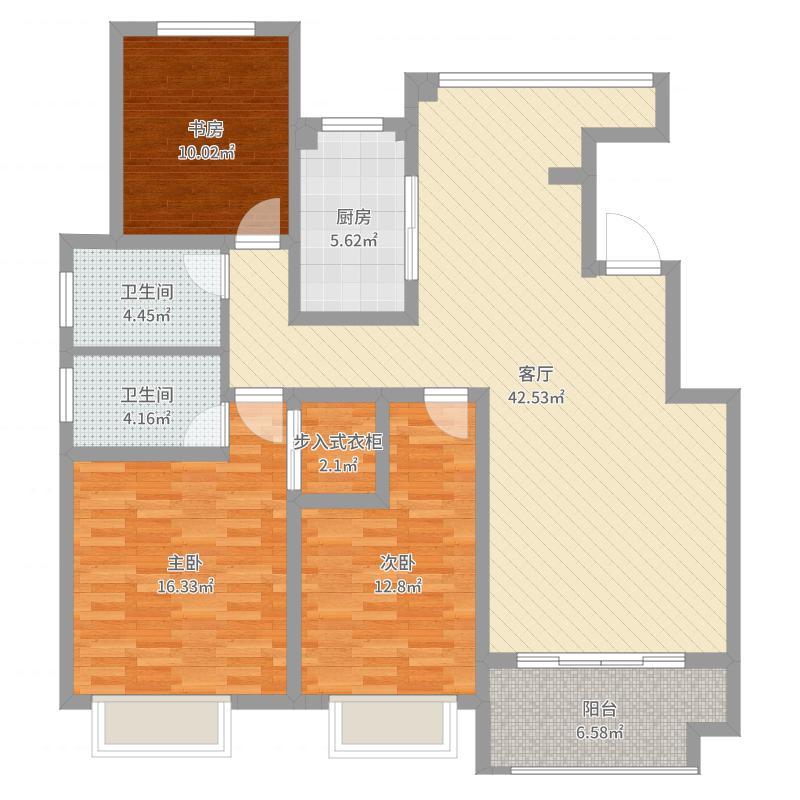 和昌中央城邦19栋204室