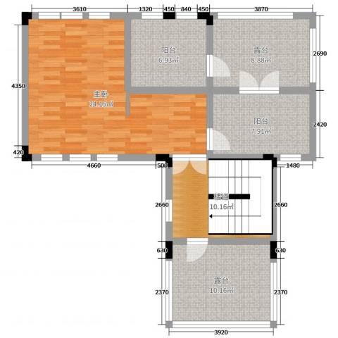 中冶南方韵湖首府1室0厅0卫0厨189.00㎡户型图