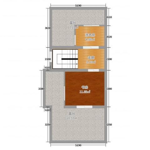万科珠江东岸1室0厅0卫0厨165.00㎡户型图