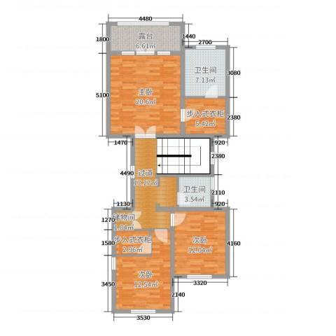 亚特兰蒂斯黄金时代3室0厅2卫0厨446.00㎡户型图