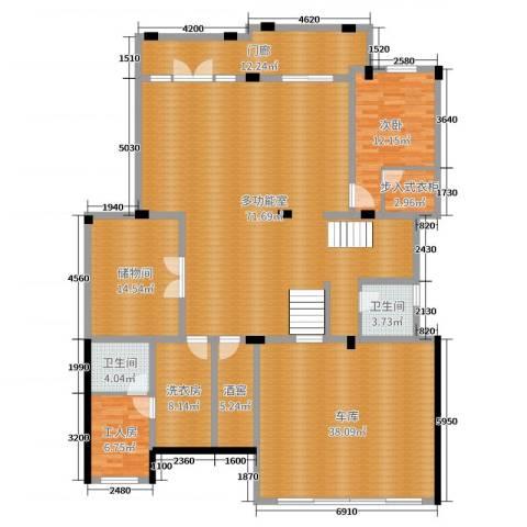 亚特兰蒂斯黄金时代1室0厅2卫0厨446.00㎡户型图