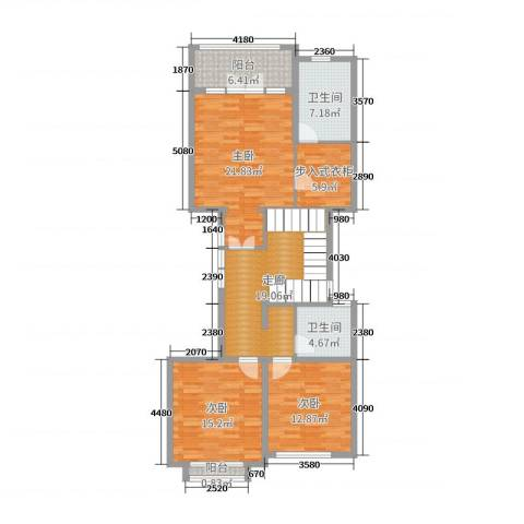 亚特兰蒂斯黄金时代3室0厅2卫0厨472.00㎡户型图