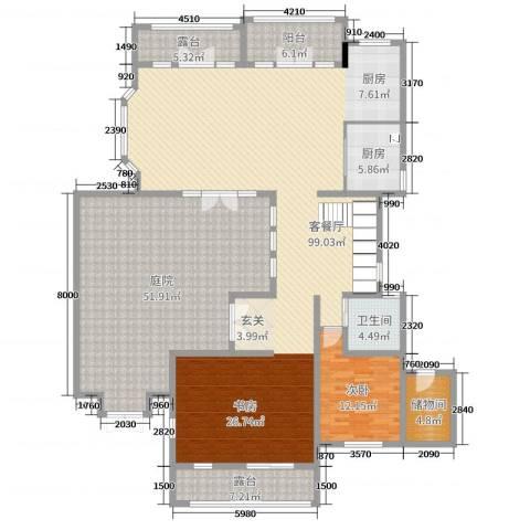 亚特兰蒂斯黄金时代1室2厅1卫1厨472.00㎡户型图