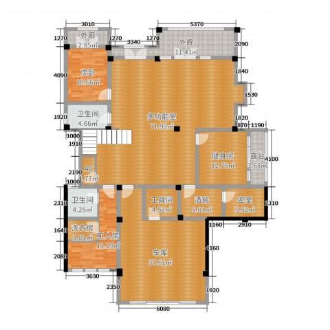 亚特兰蒂斯黄金时代1室0厅2卫0厨502.00㎡户型图