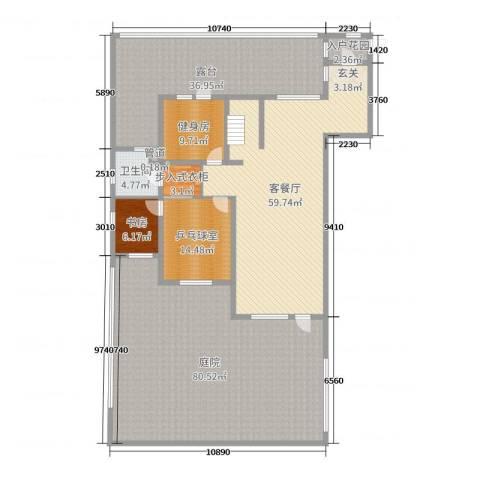 水韵豪庭1室2厅1卫0厨217.97㎡户型图