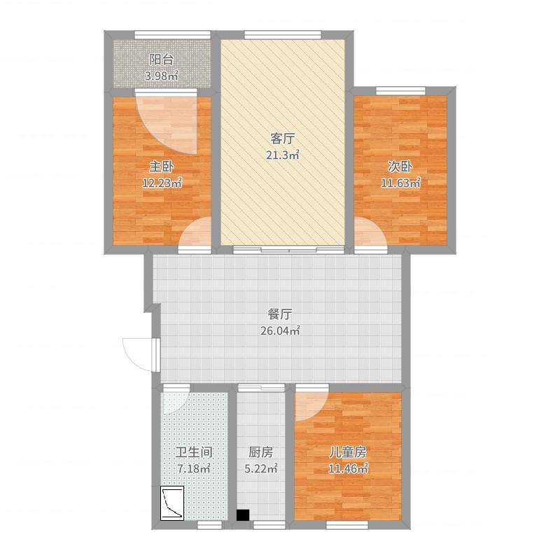 永盛鑫苑12号楼2单元802