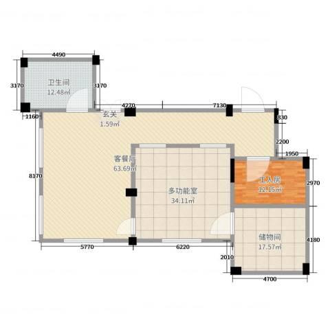 南昌莱蒙都会2厅1卫0厨175.00㎡户型图