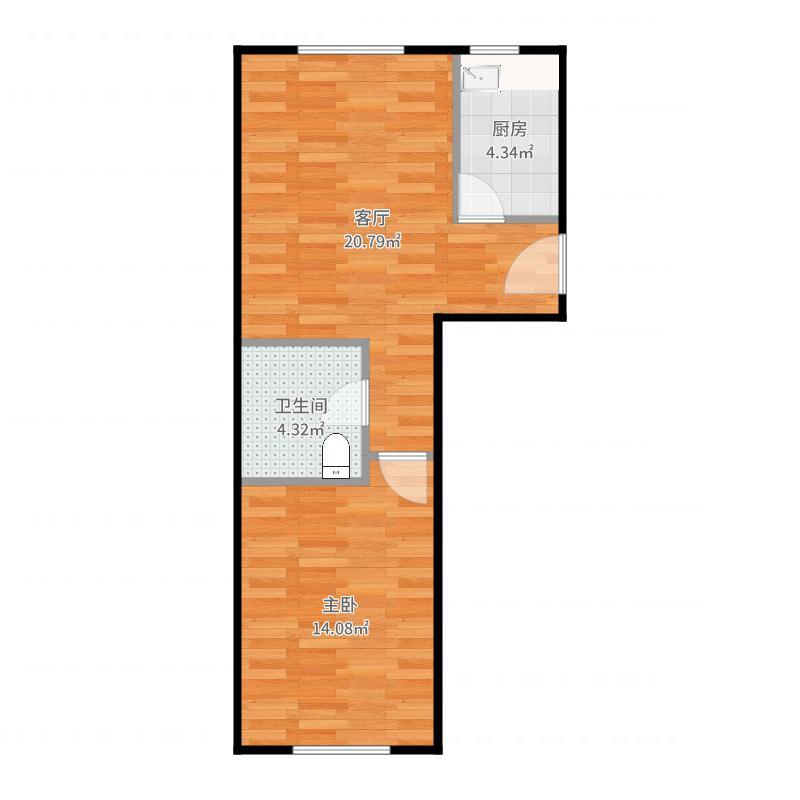 北京恒大翡翠华庭5号楼H2户型