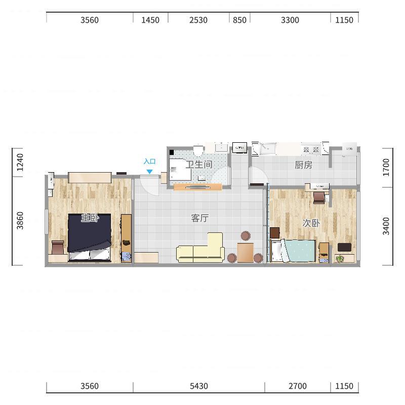 建欣苑一里5楼一单元