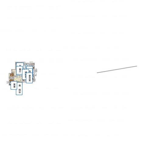 和美星城4室1厅2卫1厨169.00㎡户型图