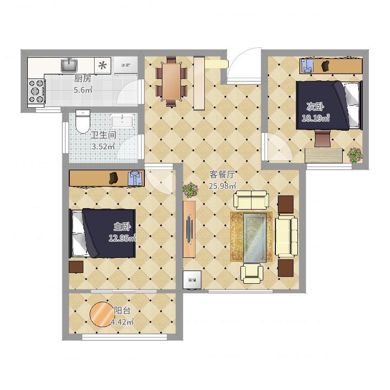A5#3东单元中户结构施工图2017