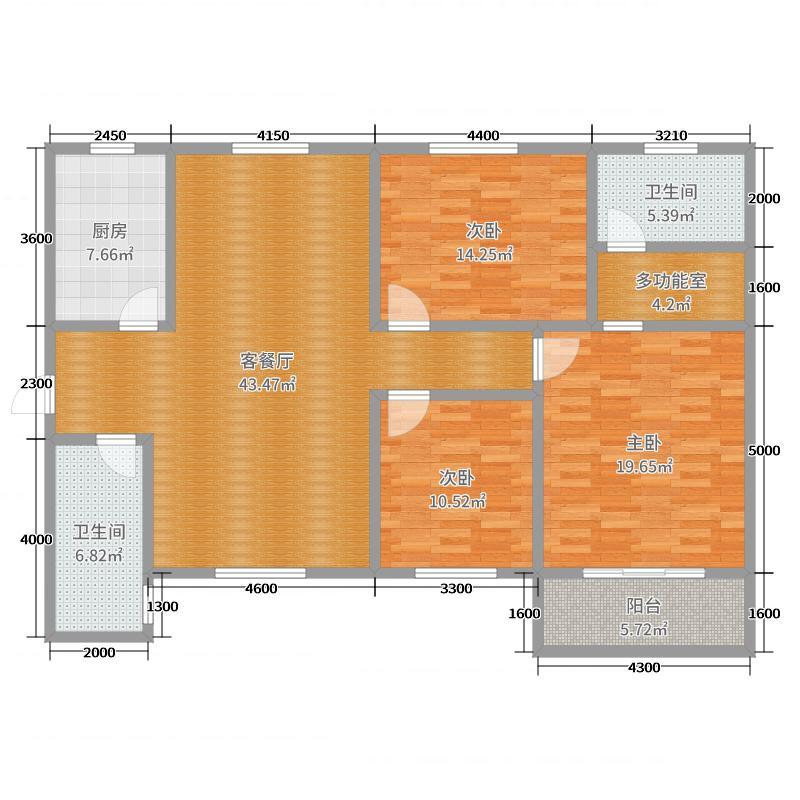 外语大学雁塔校区新住宅楼户型140-150