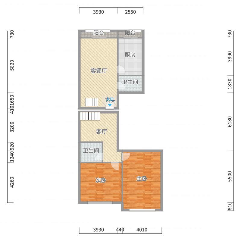 芳群公寓复式