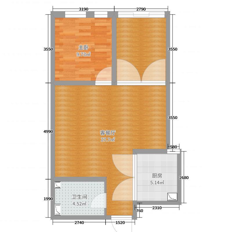 龙腾国际1号楼户型设计