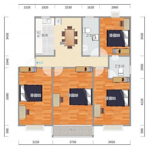 民东公寓6-101