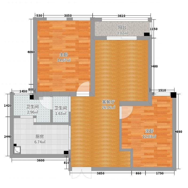 盛世天城41幢31单元2611室