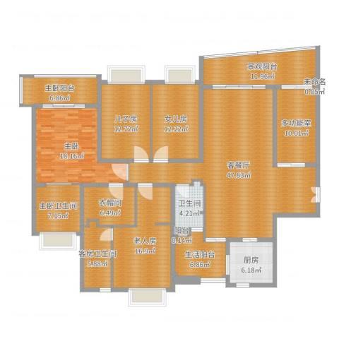 雅居乐世纪新城2室2厅1卫1厨247.00㎡户型图