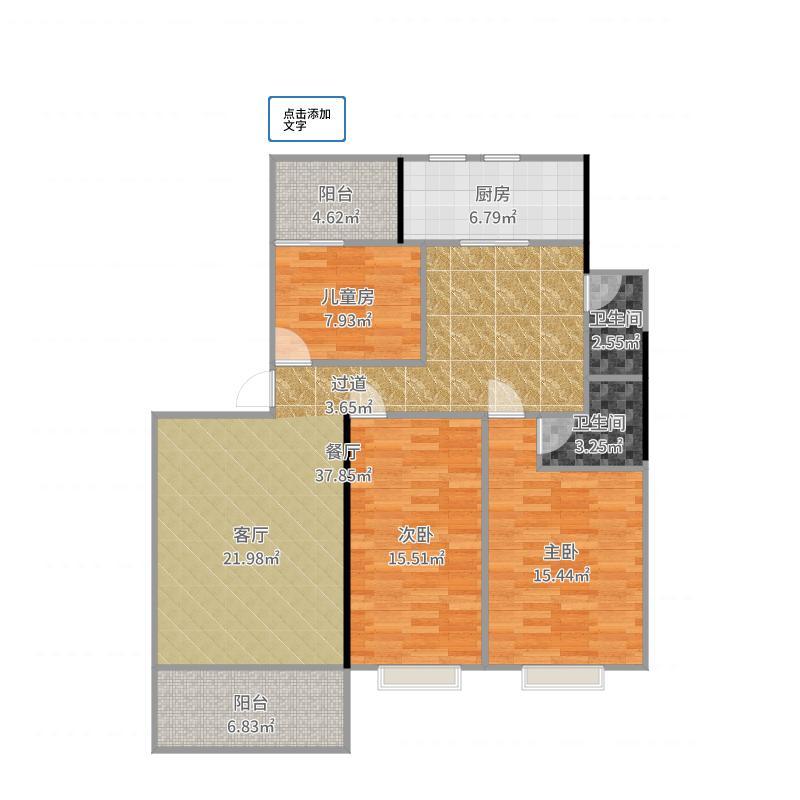 全国-香景雅园6栋07号房-设计方案