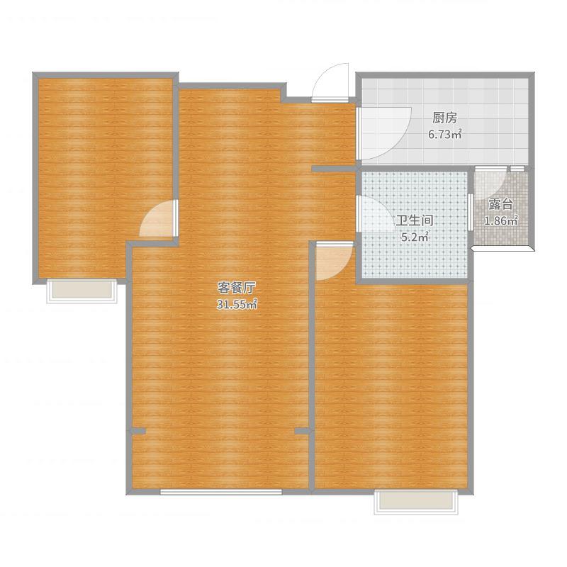 华阴市中海小区45号楼8楼85平方