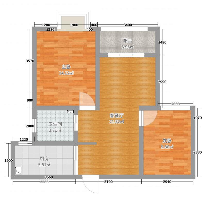 华夏东城一品55-1502