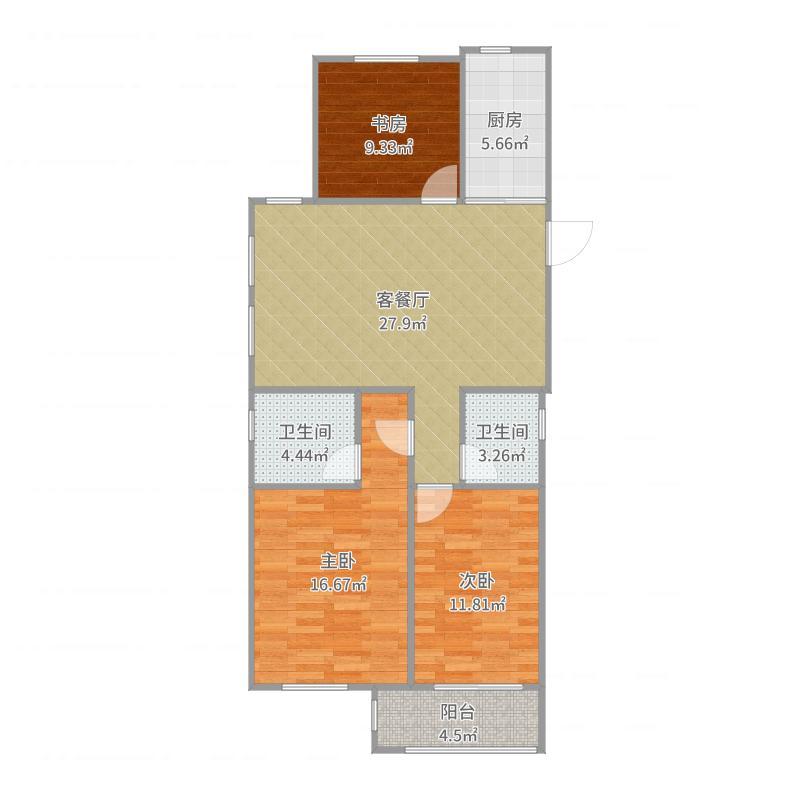城投汉邦广场2#2单1004