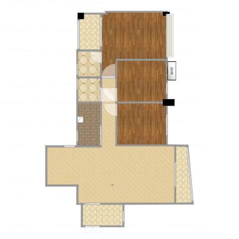 德化群盛翰林府邸3室2厅2卫1厨132.00㎡户型图