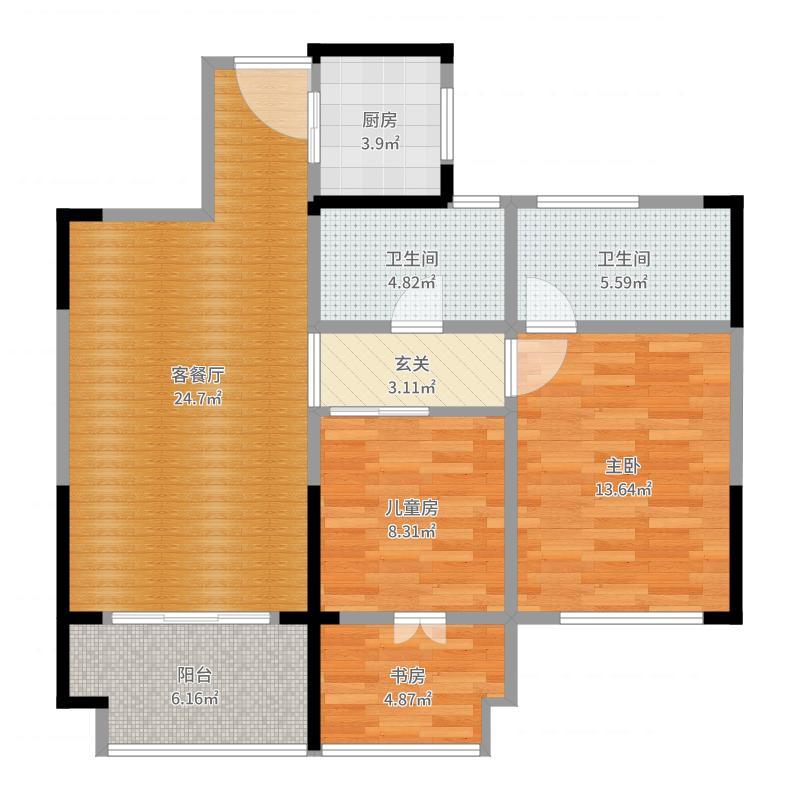 1组简约风格设计--郑超楼