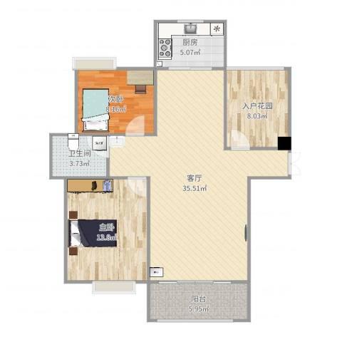 幸福人家3室1厅1卫1厨100.00㎡户型图