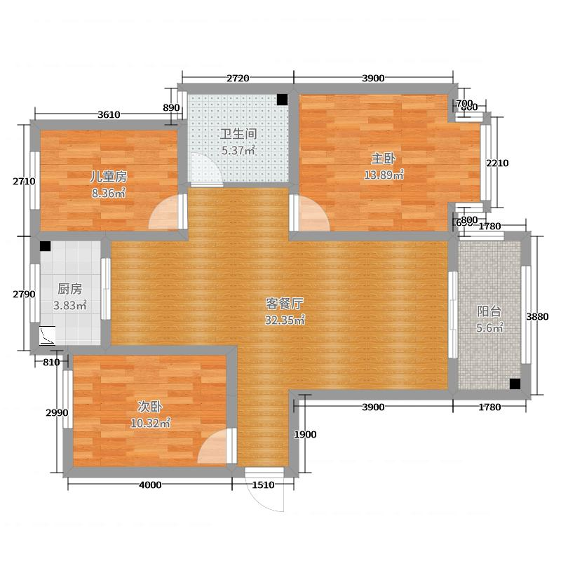 卢浮宫5号楼李文祥原始结构图