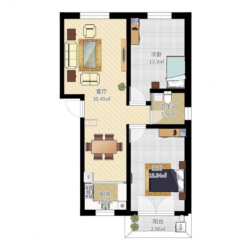 运城-南宛小区-设计方案