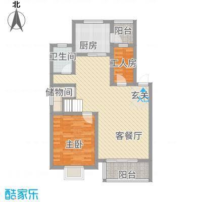 万泰・滨湖新城162.32㎡户型5室2厅3卫1厨