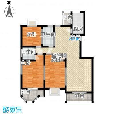 香榭丽舍137.28㎡2户型3室2厅2卫1厨