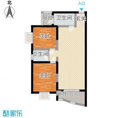 香榭丽舍17.77㎡1户型2室2厅1卫1厨