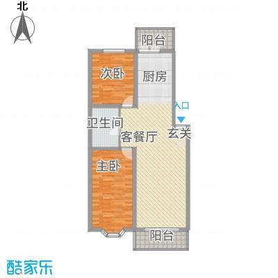 昱苑新领地9户型2室