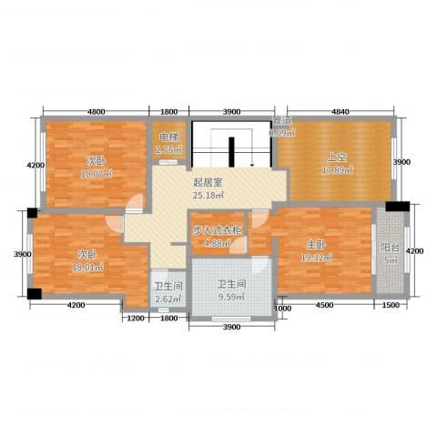 雁鸣墅语3室0厅2卫0厨486.00㎡户型图