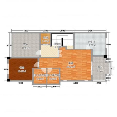 雁鸣墅语2室0厅1卫0厨486.00㎡户型图